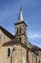 Church of chevreuse in ile de france the Stock Photography