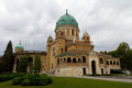 Church of christ the king mirogoj cemetery zagreb croatia Royalty Free Stock Photography