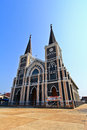 Church of christianity in thailand Stock Photography