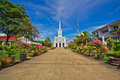 Church of christianity in thailand Stock Images
