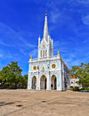 Church of christianity in thailand Royalty Free Stock Image