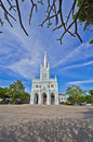Church of christianity in thailand Stock Photo