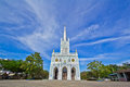 Church of christianity in thailand Royalty Free Stock Photography