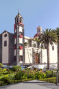 Church of the conception of Orotava Royalty Free Stock Photo