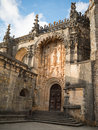Church convento de cristo of tomar Stock Photography