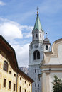 Church Of Cortina Royalty Free Stock Photos