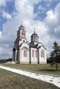 Church in darosava orthodox near aranđelovac serbia Royalty Free Stock Images