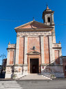 Church dedicated to st cristoforo in longiano cesena italy Stock Image