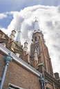The  church in Delft Stock Photography