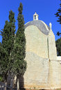 Church of Dominus Flevit in Jerusalem Stock Images