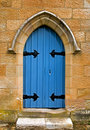 Church Door Royalty Free Stock Photo