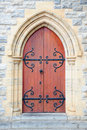 Church door Royalty Free Stock Photo