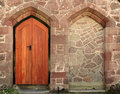 Church door entrance Royalty Free Stock Image