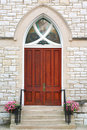 Church doors Royalty Free Stock Photo