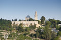 The Church of the Dormition in Jerusalem Royalty Free Stock Images