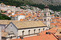 Church in Dubrovnik Stock Photography