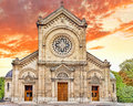 Church eglise notre dame des champs paris france Stock Photo
