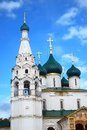 Church of Elijah the Prophet in Yaroslavl, Russia Stock Image