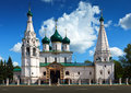 Church of elijah the prophet at yaroslavl in summer was constructed in russia Stock Photo