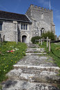 Church England medieval parish bramber Royalty Free Stock Images