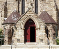 Church Entrance Door Stock Photos