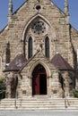 Church Entrance Door Royalty Free Stock Photo