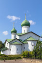 Church of the epiphany pskov on zapskovye was build in in russia Stock Image
