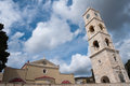Church in Ermoupolis, Syros island (Greece) Royalty Free Stock Photos