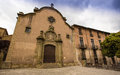 The church esglesia de la pietat this ancient is located in medieval town of vic in catalonia northeastern iberian peninsula it Royalty Free Stock Images
