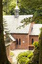 Church in the forest trzebnica near wroclaw poland Stock Images