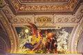 Church golden interior Стоковое Изображение
