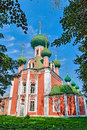 The Church of the Golden ring of Russia. Royalty Free Stock Photo