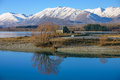 Church of the Good Shepard, Tekapo New Zealand Royalty Free Stock Photo