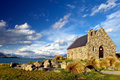 Church of the Good Sheperd, Lake Tekapo Royalty Free Stock Photo