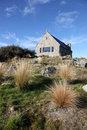 Church of the Good Shepherd - Lake Tekapo Royalty Free Stock Photo