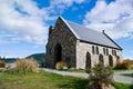 Church of the Good Shepherd, Lake Tekapo Royalty Free Stock Photo