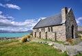 Church of the Good Shepherd, Lake Tekapo, New Zealand Royalty Free Stock Photo