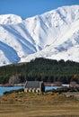 Church of The Good Shepherd, Tekapo, New Zealand Royalty Free Stock Photo