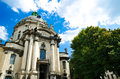 Church greek catholic in the city of lvov Royalty Free Stock Image