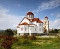 Church on greek island orthodox exterior view crete greece Stock Photo