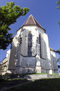 The church from the hill sighisoara transylvania bergkirch in german is an old saxon cathedral of third great in built Stock Image