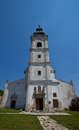 Church of the holy cross devin slovakia originally built in xiii c current view since bratislava Royalty Free Stock Image