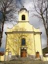 Church of Holy Cross in Lucky, Slovakia