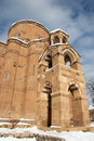 Church of the Holy Cross, Van region, Turkey Stock Photo