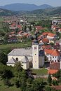 Church of the Holy Cross in Zacretje, Croatia