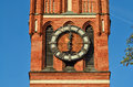 Church of the Holy family (fragment). Kaliningrad, Russia Royalty Free Stock Photo