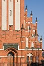 Church of the holy family neo gothic th century kaliningrad until koenigsberg russia german kirche zur heiligen familie beginning Stock Photos