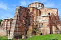 Church of the holy savior in chora second name of it now is the kariye museum in istanbul turkey Royalty Free Stock Photos