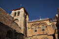 Church of the holy sepulchre church of the resurrection in jerusalem israel Stock Photography