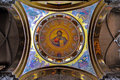 Church of the holy sepulchre jerusalem israel christ pantocrator in Royalty Free Stock Photography